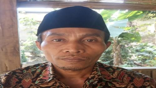 Foto : Salim,Kepala Desa Laban Jaya Kecamatan Kabupaten Lebak