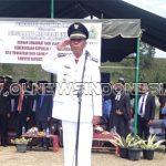 Sittor Silalahi Pimpin Upacara HUT Kemerdekaan RI ke 74 Tahun 2019 di Ronggur Nihuta