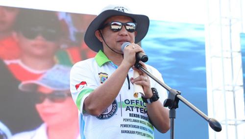 Kapolri Jenderal Polisi Tito Karnavian Saat Memberikan Sambutan