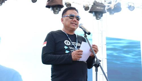 Gubernur Sulawesi Utara Bapak Olly Dondokambey Saat Memberikan Sambutan