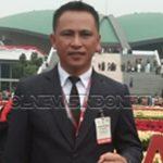 Jendry Paendong SPd ketika menghadiri Sidang Paripurna 2019 di DPR-RI