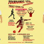 TRSLT Store Gelar Futsal Tournament Dalam Rangka First Anniversary