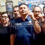etua Korwil SBSI Sulut Lucky Ch. M Sanger Beserta Pengurus Menyampaikan Anti Radikalisme Dan Terorisme