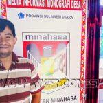 Panitia Penjaringan dan Pemilihan BPD Desa Sendangan Kecamatan Tompaso, Noldy Takasenserang