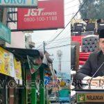 J&T Berastagi Diadukan Ke DPRD Sumatera Utara. Inset : Sekretaris Komisi D DPRD Provsu Parlaungan Simangunsong saat di temui warga, Kamis (26/12) 2019