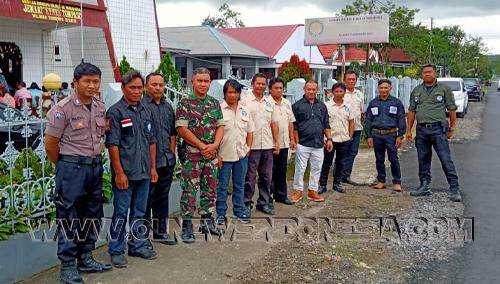 Pengamaman Dilakukan Di 54 Gereja yang ada di Wilayah Tompaso Raya