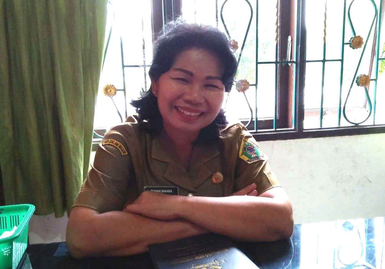 Foto : Jubir Satgas GTPP Covid 19 Kabupaten Samosir, Rohani Bakara