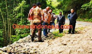 Masyarakat Kecamatan Barusjahe Apresiasi Kepedulian Bupati Karo Atasi Jalan Amblas